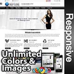 Neptune Black  Skin - Responsive Skin - Bootstrap - Corporate / Business / Mobile Tablet Skin